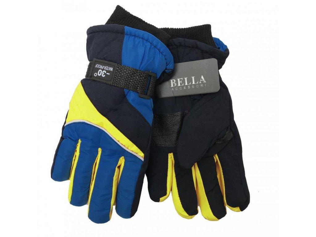 Dětské zimní rukavice Bella Accessori 9011S-7 tmavě modrá