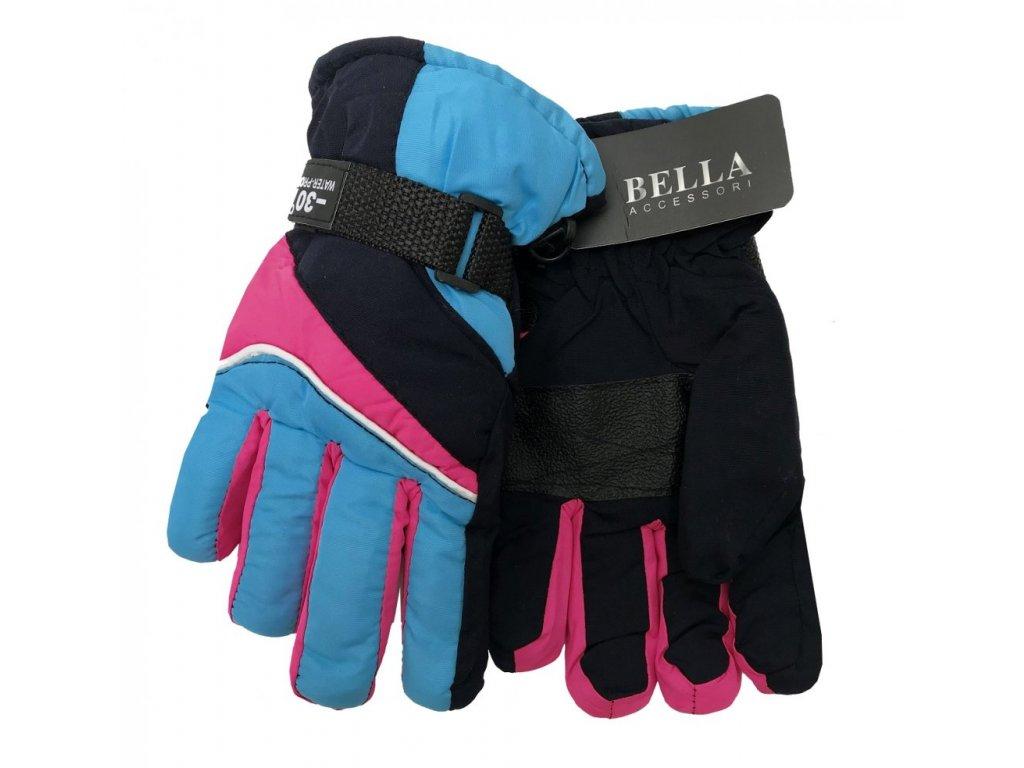 Dětské zimní rukavice Bella Accessori 9011S-9 modrá