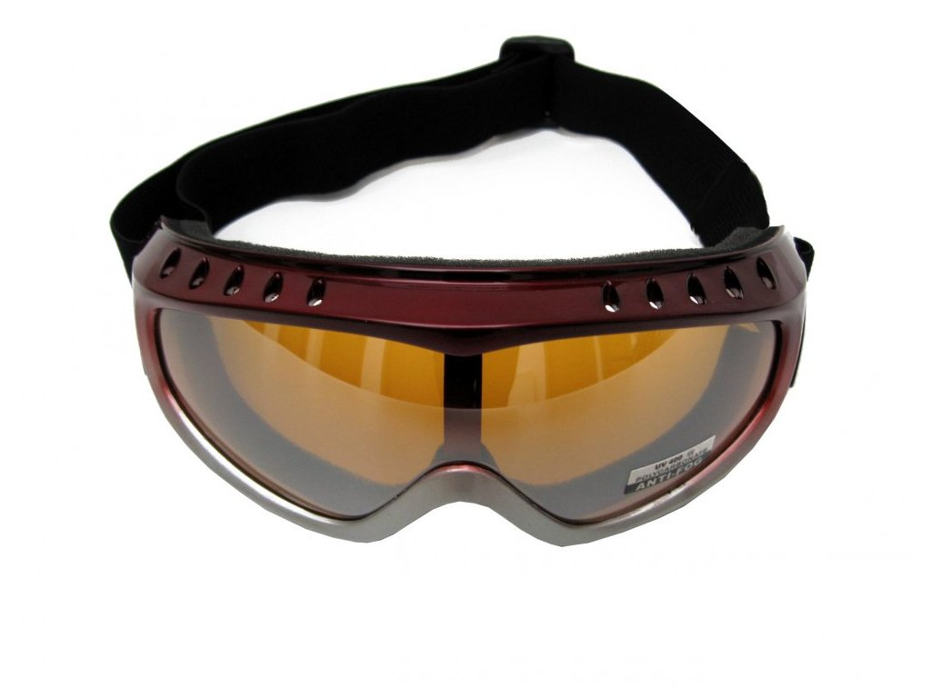Lyžařské brýle Cortini G1303-1 Snow red