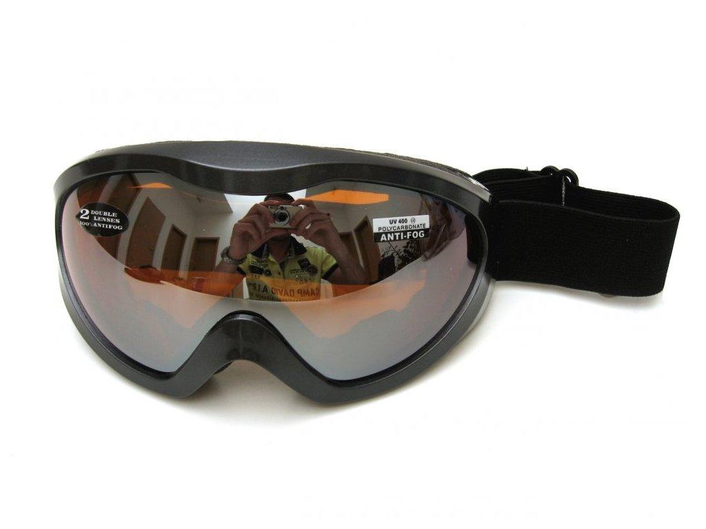 Lyžařské brýle Cortini G1190 černá perleť
