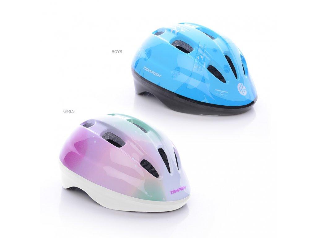 RAYBOW helma na kolečkové brusle, skateboard, kolo