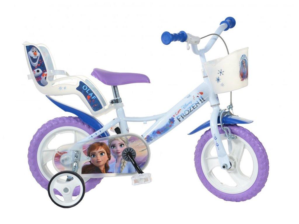 detske kolo dino bikes 124rl fz3 frozen ledove kralovstvi 12