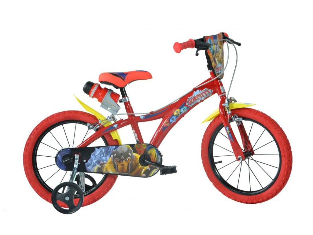 Dětské kolo Dino Bikes 616-GR Gormiti 16