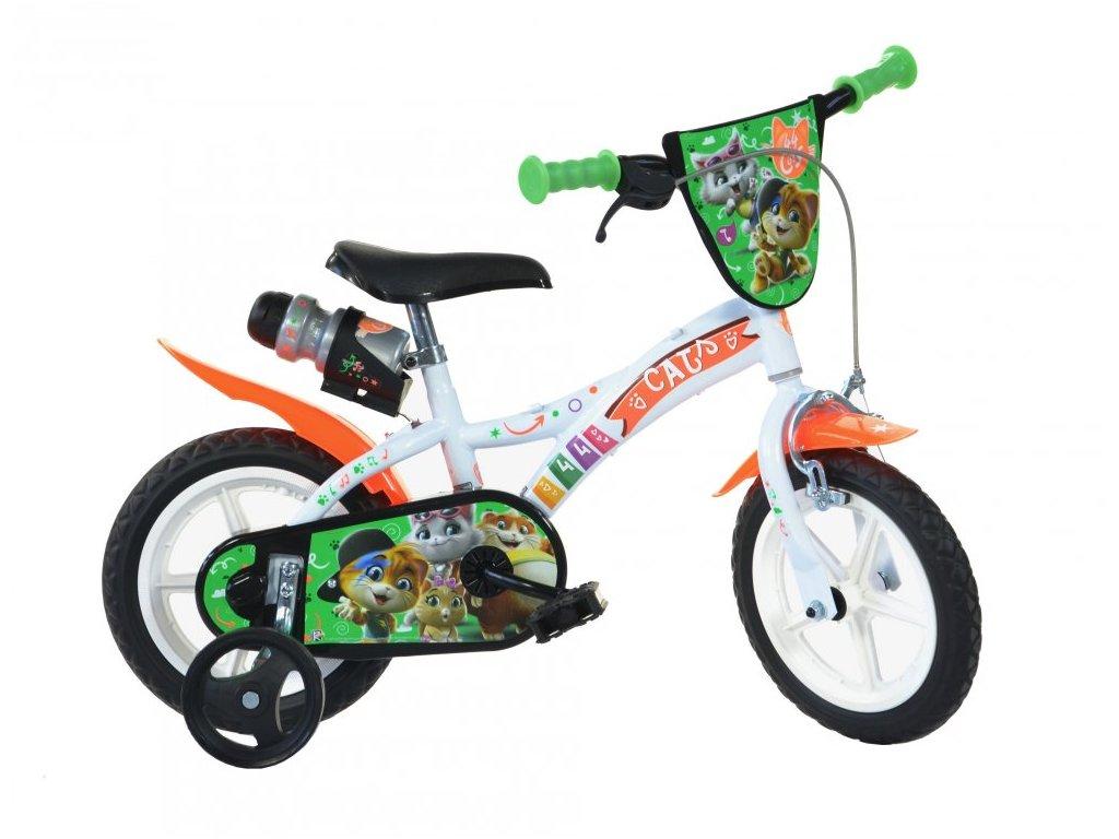 Dětské kolo Dino Bikes 612L-CATS 44 Koček 12