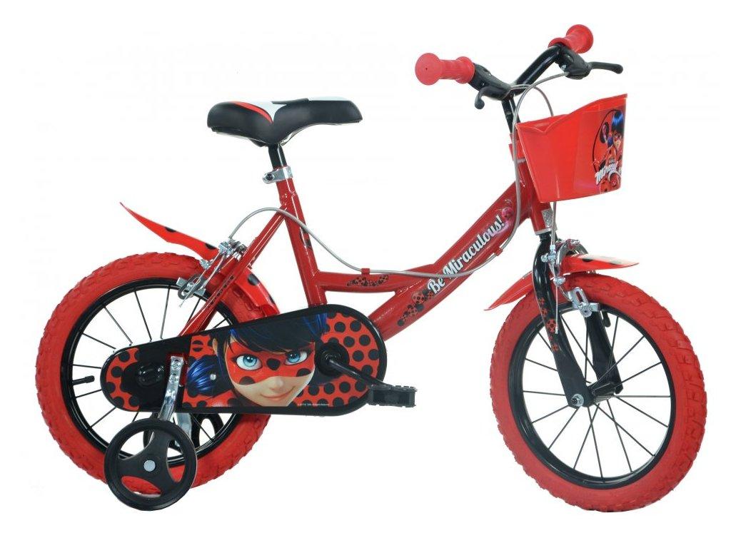 Dětské kolo Dino Bikes 144R-LB Miraculous 14
