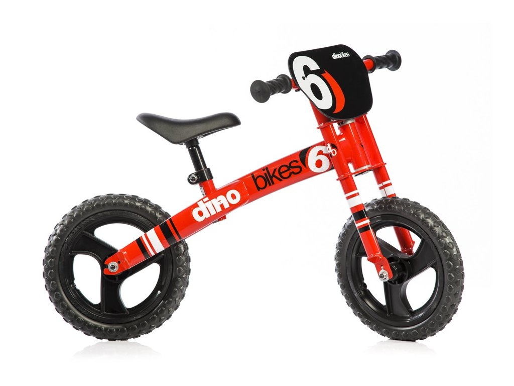 "Dětské odrážedlo Dino Bikes 150R červené 12"""