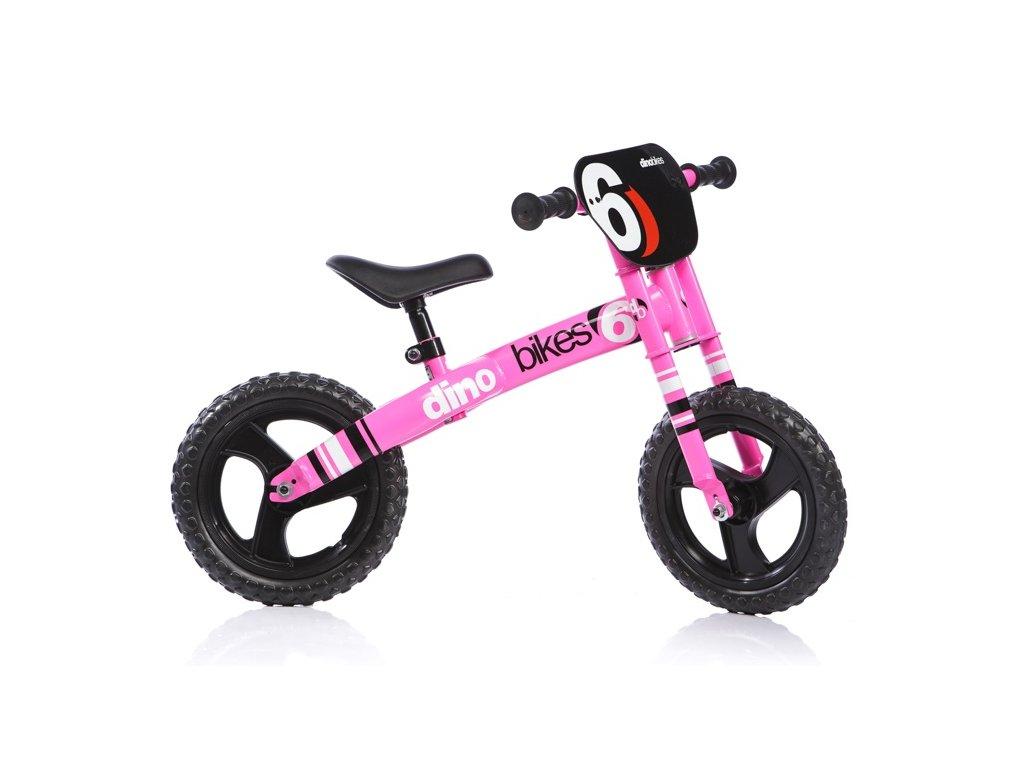 """Dětské odrážedlo Dino Bikes 150R růžové 12"""""""