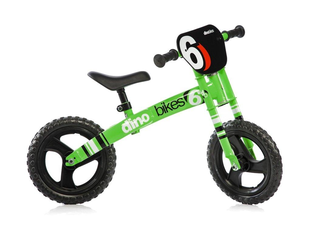 """Dětské odrážedlo Dino Bikes 150R zelené 12"""""""