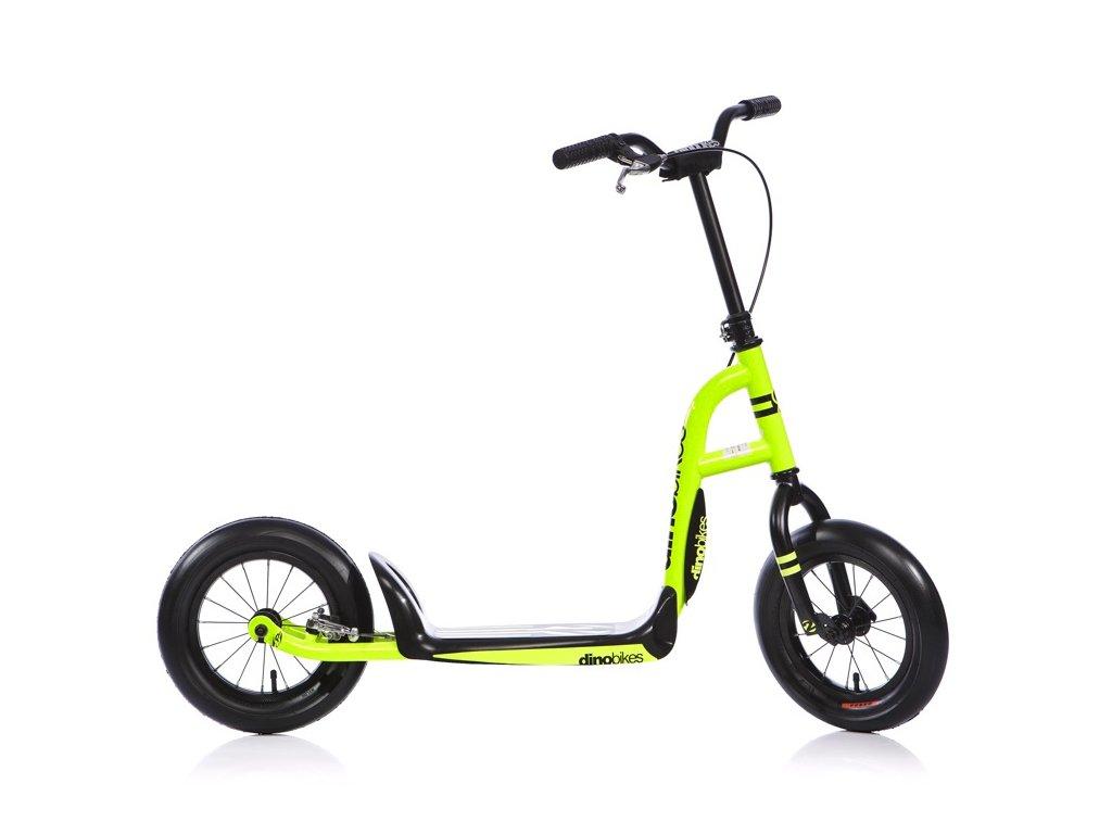Koloběžka Dino Bikes 303U Urban 12 yellow