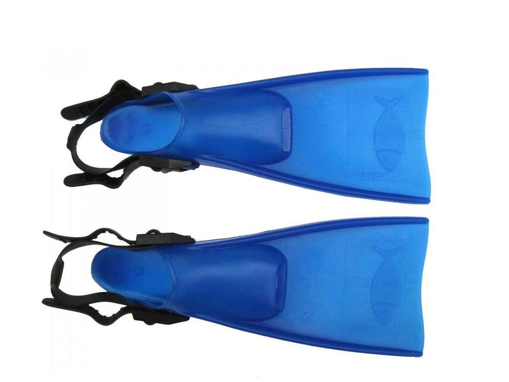 Dětské páskové ploutve Francis Rana vel. 23-26 modré