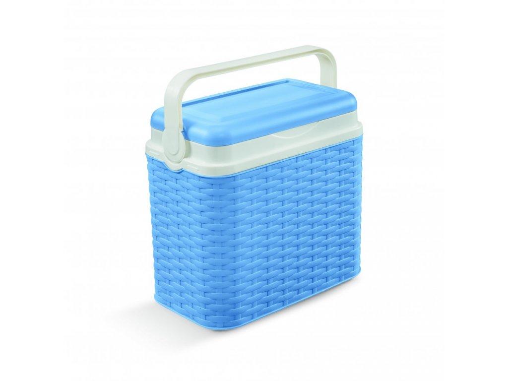 Chladící box Adriatic 10 l ratan modrý