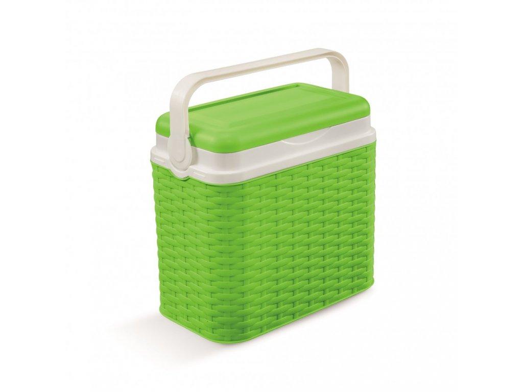 Chladící box Adriatic 10 l ratan zelený