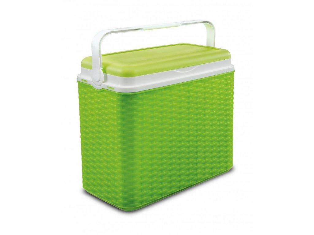 Chladící box Adriatic 24 l ratan zelený