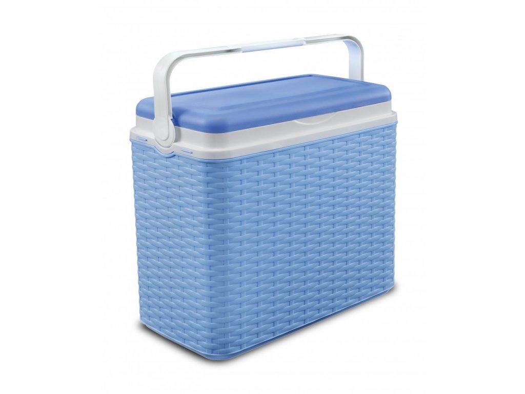 Chladící box Adriatic 24 l ratan modrý