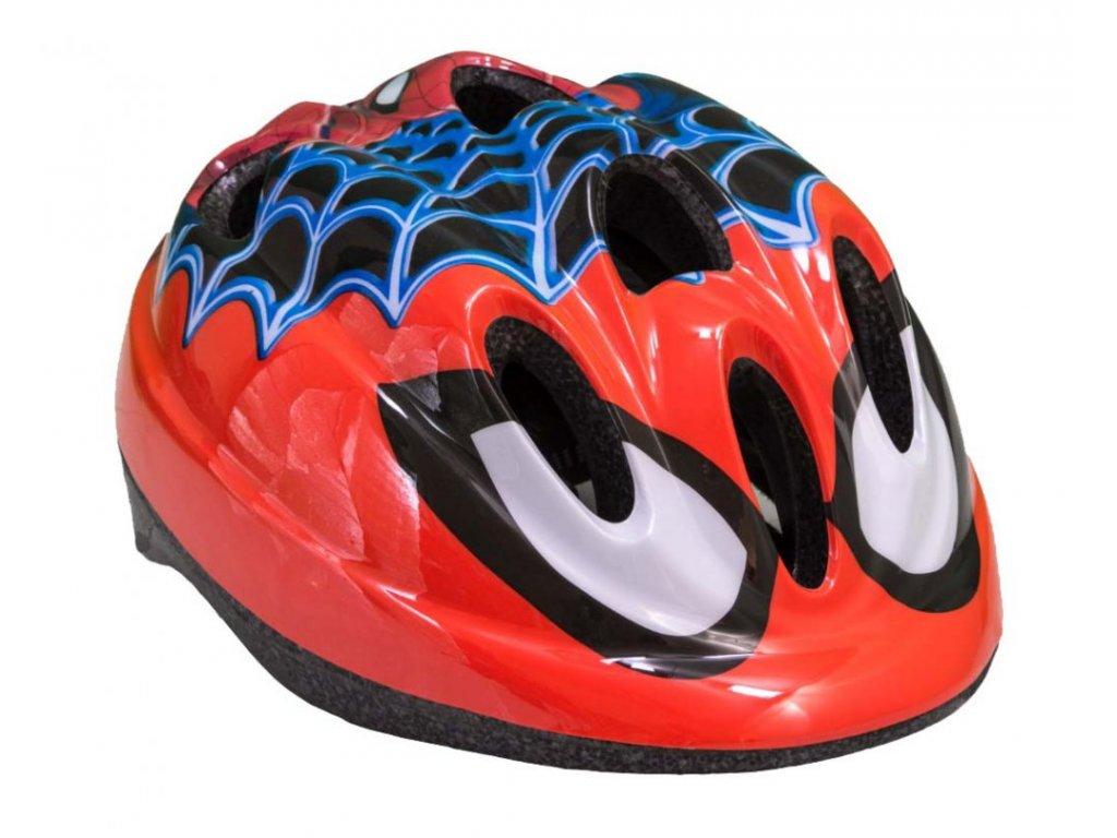 Dětská cyklistická helma Toimsa Spiderman