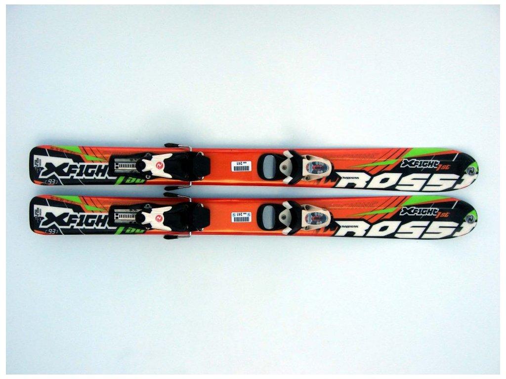 Dětské lyže Rossignol XFight 1st 93 cm