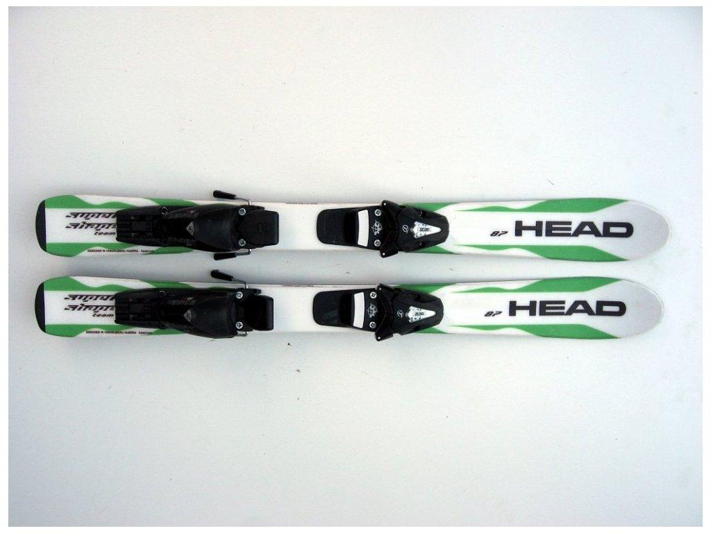 Dětské lyže Head Supershape 87 cm