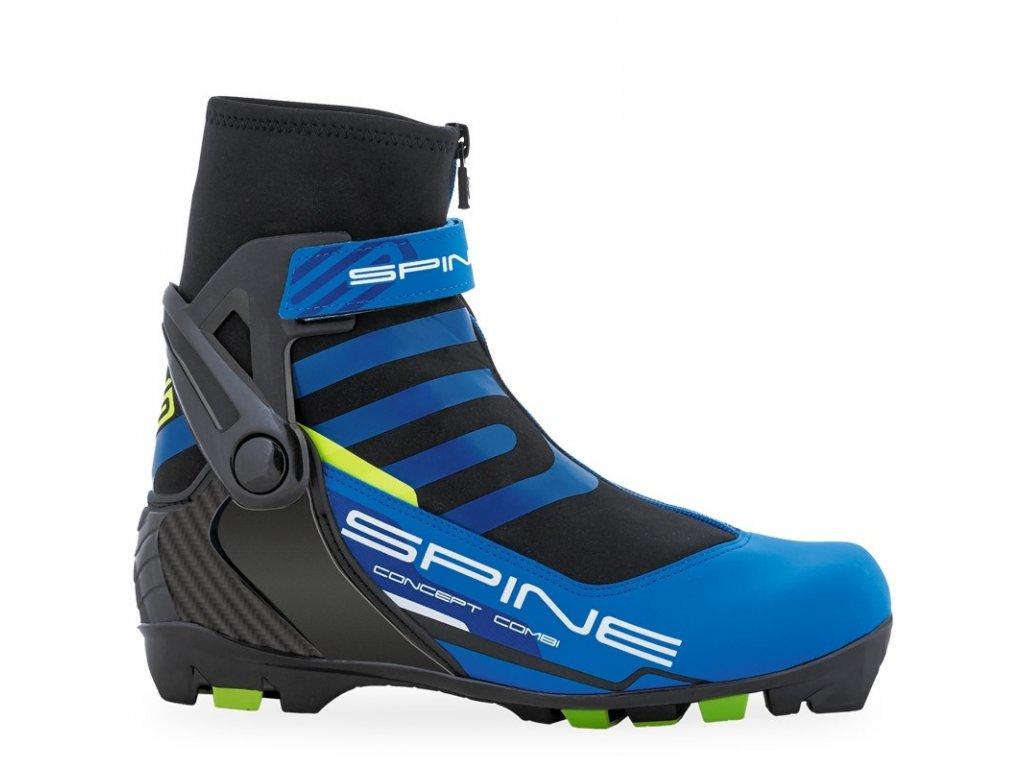 boty na bezky spine gs concept combi modra