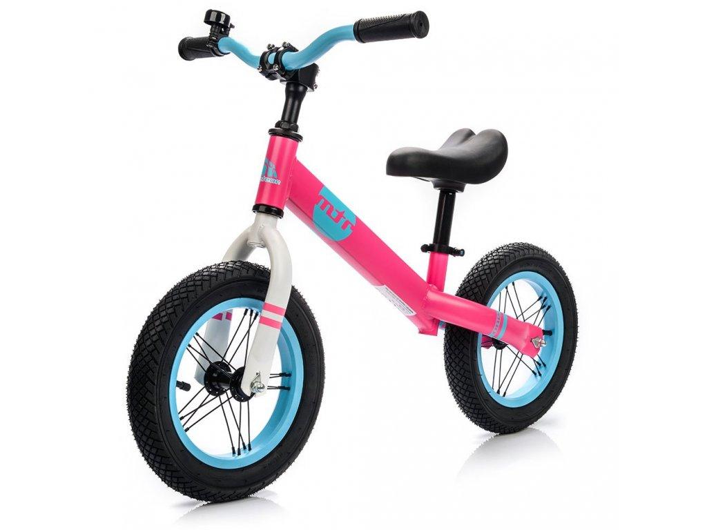 Dětské odrážedlo Meteor Balance Bike růžové