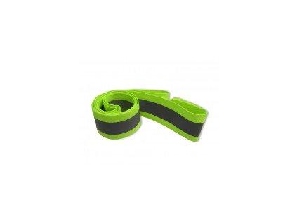 Reflexní pásek textilní se suchým zipem 135x4cm
