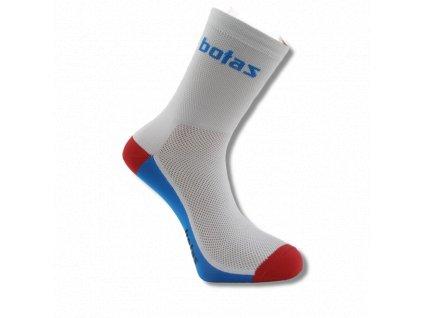 botas ponozky sport mid white