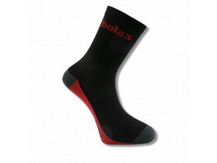 botas ponozky sport mid black