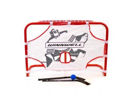 hokejova branka winnwell 32 mini net set