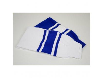 Seniorské hokejové štulpny bílo-modré (Barva bílo-modré)