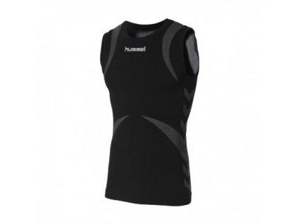 funkční tričko bez rukávů Hummel BASE LAYER (Velikost XS/S, Barevné provedení černá/šedá)