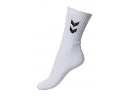 ponožky Hummel BASIC - 3 páry v balení (Barevné provedení černá, Velikost nohy 8 (32-35))