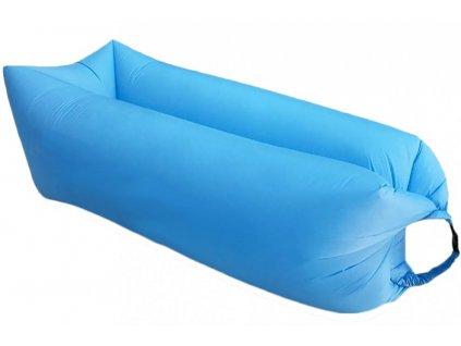 nafukovaci vak sedco sofair pillow lazy modry
