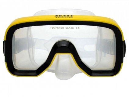 Potapěčské brýle Francis Zenit silikon senior