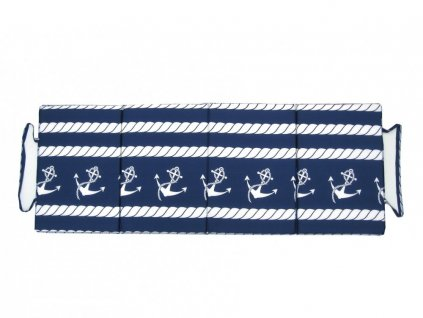 Skládací plážové molitanové lehátko Trieste-49 3 cm