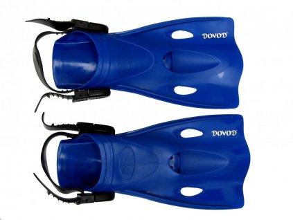 Páskové ploutve Dovod Explorer junior 27-30, modré