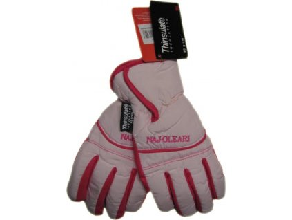 Dětské lyžařské rukavice Naj-oleari, růžová