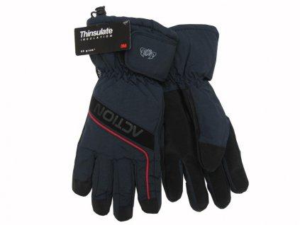 Dámské rukavice Action, modré