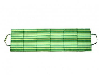 Skládací plážové karimatkové lehátko 180x50x1,5 cm