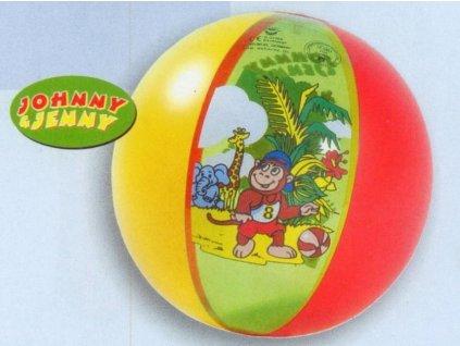 Nafukovací míč Johnny&Jenny 35 cm