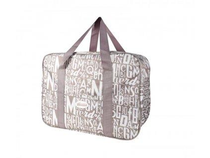 Plážová termotaška - chladící taška Kasaviva 7 litrů hnědá