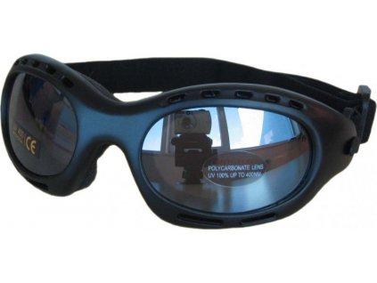 Brýle na běžky Cortini Spaio shiny black - lesk