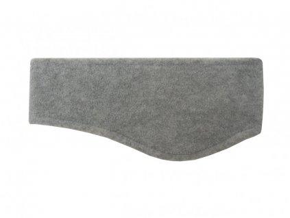 Zimní fleecová čelenka CP086 šedá