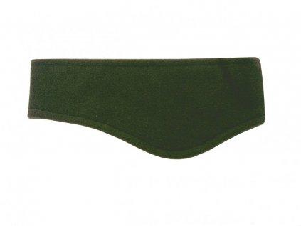 Zimní fleecová čelenka CP086 zelená
