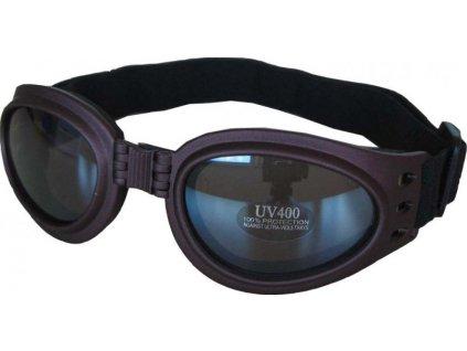 Lyžařské sluneční brýle Cortini SP34 junior, tmavě hnědé