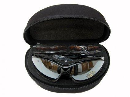 Sluneční lyžařské brýle Spheric senior - set