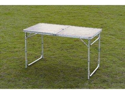 Skládací kempingový stůl TSS 120x60x70 cm