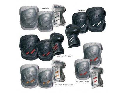 COOL MAX 3 sada chráničů kolen,loktů a zápěstí