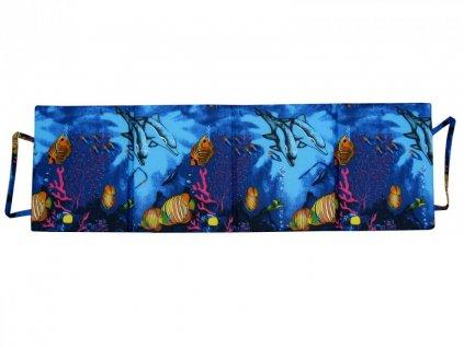 Skládací plážové molitanové lehátko Trieste-1 3 cm