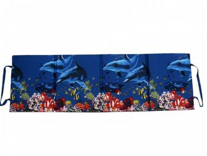 Skládací plážové molitanové lehátko Trieste-7 3 cm