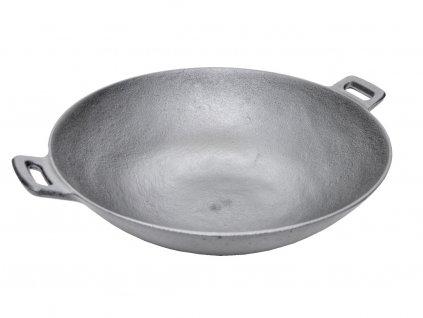 Pánev litinová WOK PH-37 cm