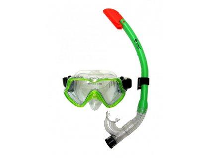 Potápěčský set Dovod 147SN74-A junior zelený